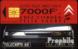Frankreich 1160 50 Einheiten Gebraucht 1993 Citroen F.Faure - Frankreich