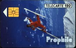 Frankreich 1230 120 Einheiten Gebraucht 1991 Skiakrobat - Frankreich
