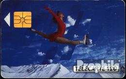 Frankreich 1250 120 Einheiten Gebraucht 1991 Eisläuferin - Frankreich
