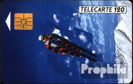 Frankreich 1310 120 Einheiten Gebraucht 1991 Skispringer - Frankreich