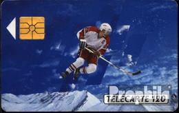 Frankreich 1330 120 Einheiten Gebraucht 1991 Eishockeyspieler - Frankreich