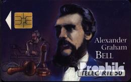 Frankreich 1400 50 Einheiten Gebraucht Alexander Graham Bell - Ohne Zuordnung