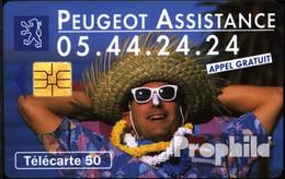 Frankreich 1610 50 Einheiten Gebraucht Peugot Assistance - Frankreich