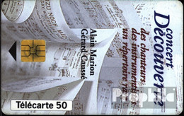 Frankreich 1630 50 Einheiten Gebraucht 1993 Concert Découverte - Frankreich