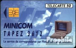 Frankreich 1650 50 Einheiten Gebraucht Minicom 92 - Frankreich