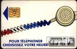 Frankreich 1890 120 Einheiten Gebraucht Telefonschnur, Weiß - Frankreich
