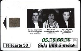 Frankreich 2190 50 Einheiten Gebraucht 1994 Sida Info Service - Frankreich