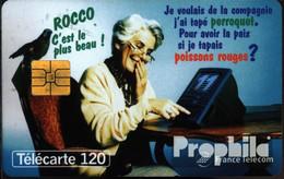 Frankreich 2680 120 Einheiten Gebraucht Oma Mit Papagei - 1995