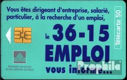 Frankreich 2750 50 Einheiten Gebraucht 36-15 Emploi - 1996