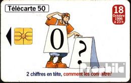 Frankreich 2920 50 Einheiten Gebraucht 1996 Neue Vorwahl 0/ - Frankreich