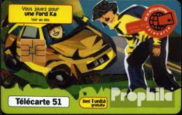 Frankreich 2990 51 Einheiten Gebraucht 1996 Ford Ka - 1996
