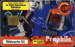Frankreich 3190 51 Einheiten Gebraucht 1999 Wanadoo - Frankreich