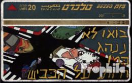 Israel 100 20 Einheiten Gebraucht Auto-Comic - Israel