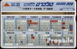 Israel 110 20 Einheiten Gebraucht Kalender - Israel