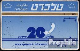 Israel 130 20 Einheiten Gebraucht Telecard - Israel