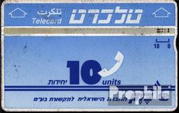Israel 80 10 Einheiten Gebraucht Telecard - Israel