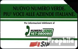 Italien 920 5000 Lire Gebraucht Nuovo Numero Verde - Italië