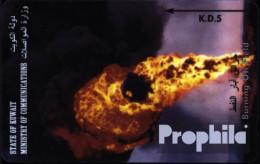 Kuwait 420 5 Einheiten Gebraucht Brennende Ölfelder - Kuwait