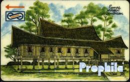 Malaysia 5 $ Gebraucht Holzhaus - Malaysia