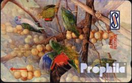 Malaysia 5 $ Gebraucht Papageien - Malaysia
