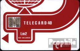 Malta 1370 40 Einheiten Gebraucht Telecard Lm2 - Malta