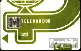 Malta 1420  60 Einheiten Gebraucht Telecard Lm3, Hellgrün - Malta