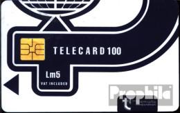 Malta 1430 100 Einheiten Gebraucht Telecard Lm5 - Malta