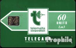 Malta 1460 60 Einheiten Gebraucht 1997 Telecard - Malta