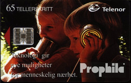 Norwegen 120 65 Einheiten Gebraucht Dosentelefon - Norway