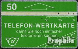 Österreich 160 50 Einheiten Gebraucht 1991 Grüne Wertkarte - Oesterreich