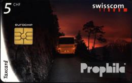 Schweiz 9807a 5 Franken Gebraucht 1998 Bus - Schweiz