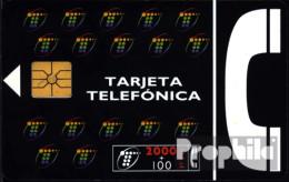Spanien 1330 2000+100 Pesetas Gebraucht Tarjeta,schwarz - Spain