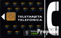 Spanien 1340 1000 Pesetas Gebraucht Teletarieta,schwarz - Spain