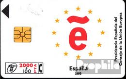 Spanien 1370 2000+100 Pesetas Gebraucht Europarat 1995 - Spain
