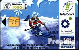 Spanien 1410 1000 Pesetas Gebraucht Ski-WM `96 - Spain