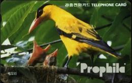 Süd-Korea 250 3000 Won Gebraucht Gelber Vogel - Korea, South
