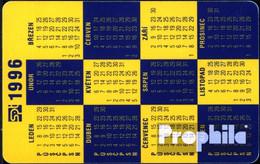 Tschechoslowakei 850 50 Einheiten Gebraucht 1995 Kalender 1996 - Czechoslovakia