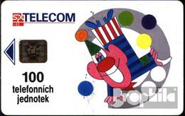 Tschechoslowakei 870 100 Einheiten Gebraucht Clown - Czechoslovakia