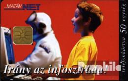 Ungarn 9702 50 Einheiten Gebraucht 1997 Junge Beim Internetsurfen - Hungary