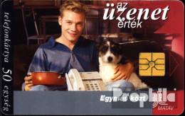 Ungarn 9711 50 Einheiten Gebraucht 1997 Junger Mann Mit Hund - Hungary