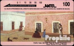 Uruguay 90 100 BS Gebraucht Figari Gemälde - Hongarije