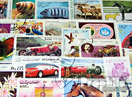 Afghanistan 200 Verschiedene Marken - Afghanistan