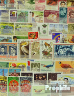 Alle Welt 1.000 Verschiedene Marken  Übersee - Briefmarken