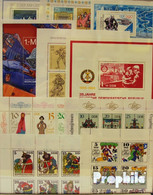 DDR 30 Verschiedene Blöcke Und Kleinbögen Postfrisch - Germany