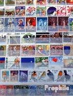 Irland 200 Verschiedene Marken - Collections, Lots & Séries