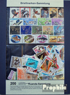Ruanda 200 Verschiedene Marken Postfrisch - Ruanda-Urundi