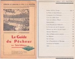 1954. Le Guide Du Pêcheur En Seine-Inférieure - Chasse/Pêche