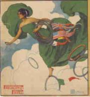 PUBB. PIRELLI PNEUMATICI 1918 DIS. DI BALLERIO - Advertising