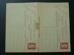 Entier Postal CPRP1 60c Pasteur Avec Réponse - Postal Stamped Stationery