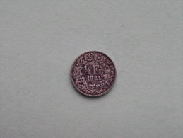 1921 - 1/2 Franc / KM 23 ( Uncleaned - For Grade, Please See Photo ) ! - Suisse